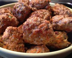 Healthy Super Bowl Recipes - Turkey meat balls :)