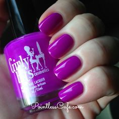 Hip Hoop Hurray by Girly Bits {Hoop! There It Is! Collection} Swatches and Review | Pointless Cafe