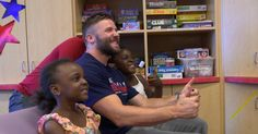 Julian Edelman and Dion Lewis visit children at Massachusetts General Hospital before joining a picnic with faculty and staff. Check it out on this edition of Toyota's Patriots Today.