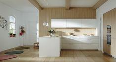 Santos: Kitchens designed to help you Kitchen Shop, Home Decor Kitchen, Kitchen Ideas, West Home, Kitchen Cabinets, Table, Furniture, Design, Fitted Kitchens