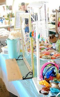 craft booth DIY display