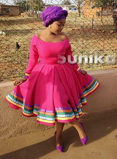 African Bridal Dress, African Clothes, Latest African Fashion Dresses, African Dresses For Women, Pedi Traditional Attire, Sepedi Traditional Dresses, South African Traditional Dresses, Xhosa Attire, African Attire