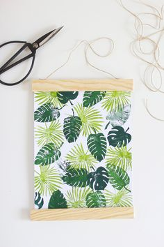 DIY: Posterleiste aus Holz