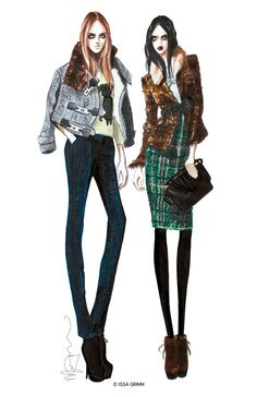ISSA GRIMM: ILLUSTRATION  Be Inspirational❥ Mz. Manerz: Being well dressed is a…