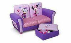 Delta Children Disney Minnie Mouse Upholstered Sofa Set for sale