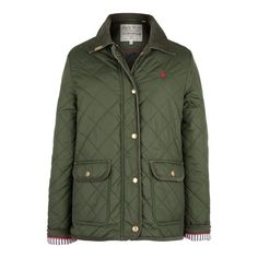 The Longford Quilted Jacket | Jack Wills love this coat and color!!