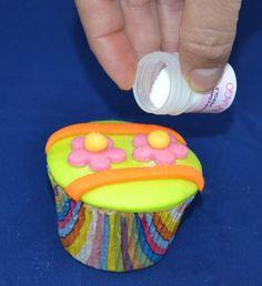 Passo a Passo Cupcake Barrados por Elisabeth Teodoro