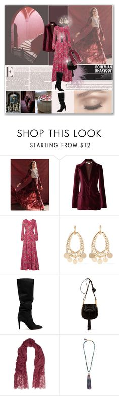 """""""B.O.H.E.M.I.A.N"""" by violavintage ❤ liked on Polyvore featuring Free People, STELLA McCARTNEY, Etro, Eddie Borgo, Gianvito Rossi, Chloé, Valentino and Rosantica"""