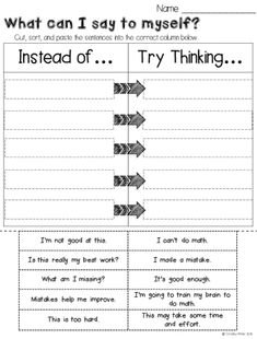 Do your students have a growth mindset or a fixed mindset? Here are some engaging activities for elementary kids. These lessons are designed as a way to foster a Growth Mindset culture in your classroom with your students. Also Included are bulletin board Growth Mindset For Kids, Growth Mindset Activities, Growth Mindset Lessons, Coping Skills, Social Skills, Life Skills, School Social Work, Student Work, School Ot