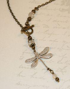 Shabby chic jewelry shabby chic necklace by CharmingLifeJewelry, $27.00