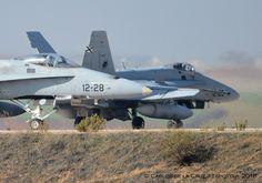 F-18 DEL EJERCITO DEL AIRE ESPAÑOL