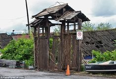 abandoned movie sets - Google Search