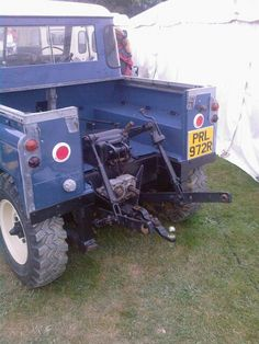 Land Rover rear linkage