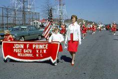 35mm Slides Bellrose NY Parade 1964 3 Slides