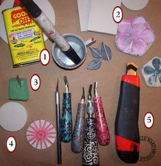 Wonderful tutorials at this blog site...this one on tips for carving your own stamps