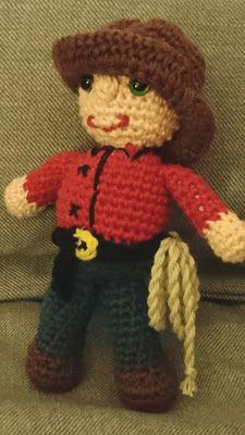Pysenpigens hobby-hjørne: Jeg er en glad lille cowboy Mini Craft, New Moms, Singing, Harry Potter, Teddy Bear, Toys, Crafts, Inspiration, Animals