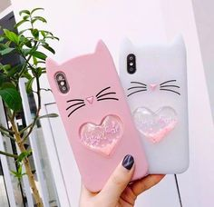 cartoon beard cat soft silicone phone case back cover for iphone xs max/
