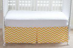 Design Your Own Custom Crib Skirt by LavenderLinens on Etsy, $95.00