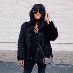 #fur #streetstyle