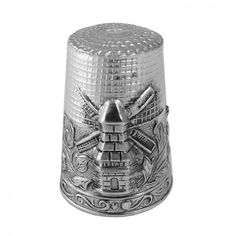 Sterling Silver Thimbles | Home / Sterling Silver Windmill Thimble