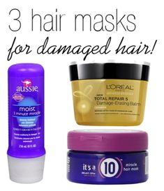 3 Amazing Hair Masks for Damaged Hair. Hair masks are a fantastic way to keep your hair healthy. Here are my top three picks.