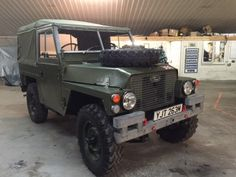 Land Rover® Lightweight *Tax Exempt & Unique* (YJT) - John Brown 4x4