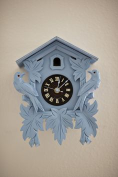 Paint an old cuckoo clock.  Pretty. Quirky.