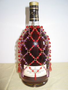 Image detail for -beaded wine bottle cover Picture - More Detailed Picture about Beaded ...