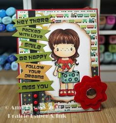 Image by CCDesigns Stamps, Sentiments by AmyR Stamps, Card by AmyR