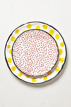 dot pop dinnerware #anthropologie