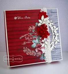 Square Card, Flower Cards, Wedding Cards, Mixed Media, Boxes, Scrapbooking, Hot, Flowers, Stamps