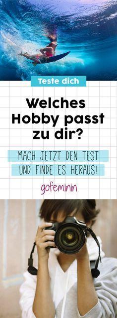 Mach den Test: Welches Hobby passt zu mir? #psychotest #hobby #test