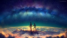 The Heavens and Us  Best of DeviantArt by Yuumei