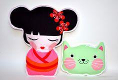 Wonderland: Bamboline Kokeshi e gattini