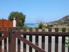Vista dal cortile della villetta Ile rousse - Corsica