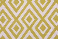 Richloom Platinum Collection Dixon Drapery Fabric in Kiwi $10.95 per yard