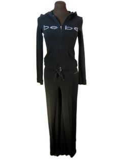 Bebe sexy warm up suit. $57.98