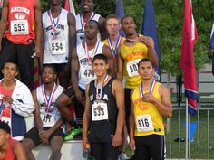 Taos' Isaac Gonzales, No. 633, and his New Mexico teammates placed sixth in the 4x200-meter relay at the Great Southwest Classic track and field meet