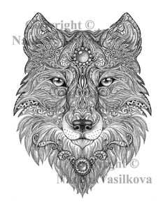 Printable Animal Coloring Pages For Adults Http