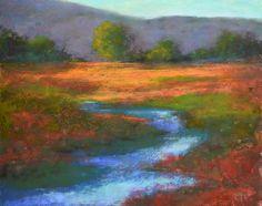 art impressionism landscape pastel - Google zoeken