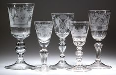 Many other 18th century engraved pokals