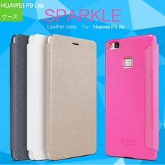 Huawei P9 Lite ケース 手帳 レザー スリム/薄型 上質で高級感のあるPUレザー おしゃれなP9 ライト 手帳型レザーケース P9LITE-NK03 - IT問屋直営本店