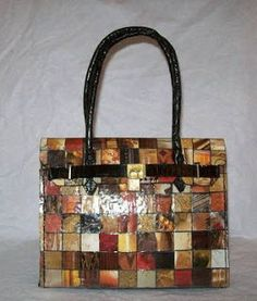 The Purse Project: Purse from trash