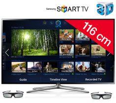 SAMSUNG Téléviseur LED 3D UE46F6400 prix promo Carrefour.fr 685.99 € TTC au lieu de 756.68 €
