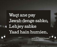 waqt aane do Shat pratishat Jokes Quotes, True Quotes, Best Quotes, Poetry Quotes, Hindi Quotes, Quotations, Deep Words, True Words, Crazy Girl Quotes