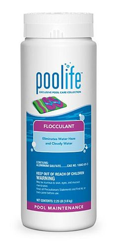 Poolife opening kit closing kit the poolife opening kit - Liquid flocculant for swimming pools ...