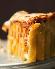 Rigatoni Pie | 83 Insanely Popular Dinners That Are Practical And Easy