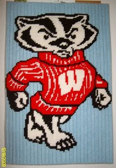 bucky wall hanging Plastic Canvas Pattern 5.00
