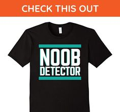 Mens Funny Noob Detector Video Game T Shirt Large Black - Gamer shirts (*Amazon Partner-Link)