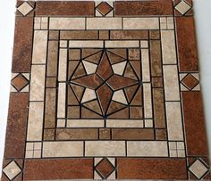 "24"" Mosaic Tile Medallion Design Marble Ceramic Floor Wall Backsplash Deco Foyer 